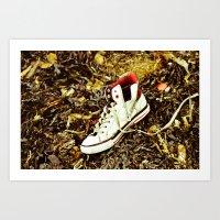 Just A Shoe Art Print