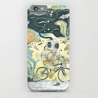 iPhone & iPod Case featuring Cycling in the Deep by Dushan Milic
