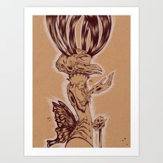 Sunday Conductor Art Print
