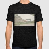 Reality Mens Fitted Tee Tri-Black SMALL