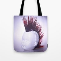 Rebelious Young Person Tote Bag