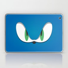 Blue Face Laptop & iPad Skin