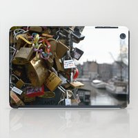 Lovers Locks iPad Case