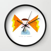 Visions Of Radness Wall Clock