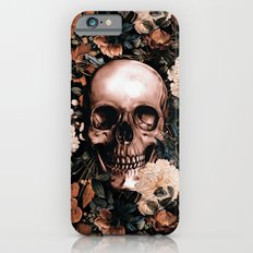 SKULL AND FLOWERS II iPhone 6s Slim Case