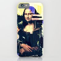 iPhone & iPod Case featuring mona lisa by manish mansinh