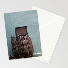 alpine, texas window Stationery Cards