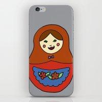 1 Matroyshka Doll iPhone & iPod Skin