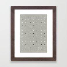 Stupid Pois Framed Art Print