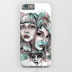 Faces and Color iPhone 6s Slim Case