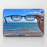 Hawaii Sunglasses Palmtrees iPad Case
