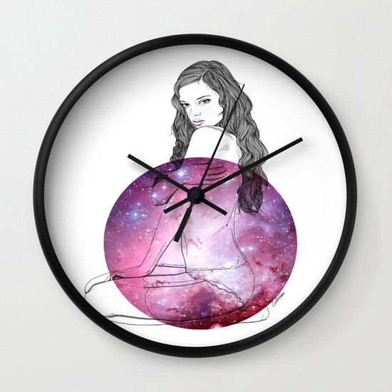 We Are All Made of Stardust #3 Wall Clock