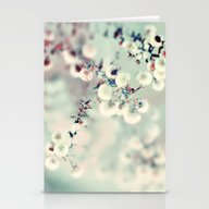 Stationery Cards featuring Midwinter Daydream by Elle Moss