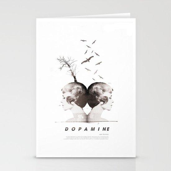 Dopamine | Collage Stationery Card