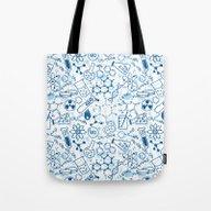 School Chemical Pattern … Tote Bag