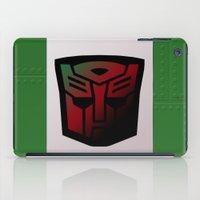 Transformers Generation 1: Rub Sign: Autobot iPad Case