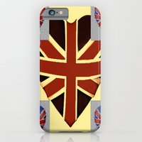 I Heart Great Britain. iPhone 6 Slim Case