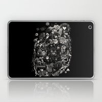 Spark-Eyed Oblivion Cascade Blues Laptop & iPad Skin