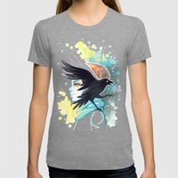 Forward Womens Fitted Tee Tri-Grey SMALL