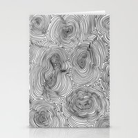 Contours Stationery Cards