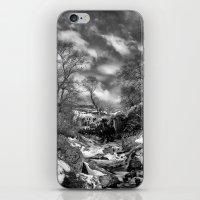 Waterfall Snowfall iPhone & iPod Skin