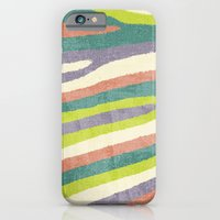 iPhone & iPod Case featuring Fruit Stripes. by Nick Nelson