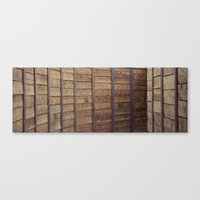 tunnelwall Canvas Print