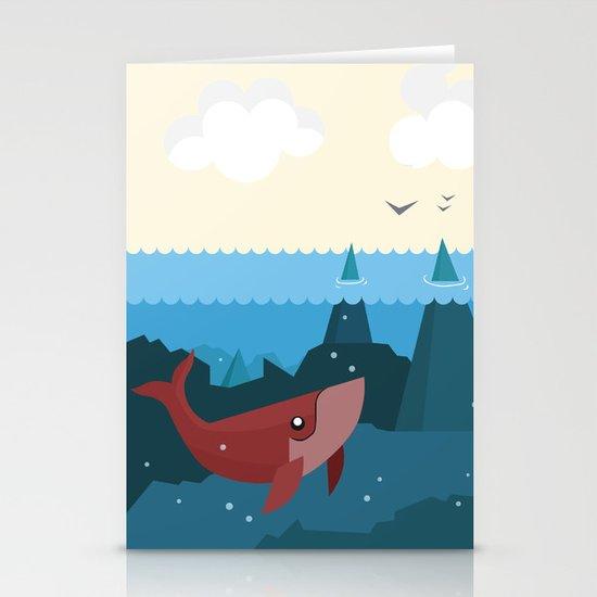 Hidden World Stationery Card