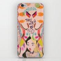 Alice In Wonderland  iPhone & iPod Skin