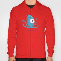 Octopus Blue/Yellow Hoody