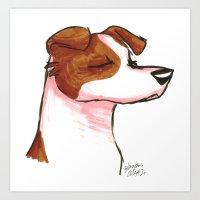 Brush Breeds-Jack Russell Terrier Art Print