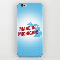 Made in Michigan iPhone & iPod Skin