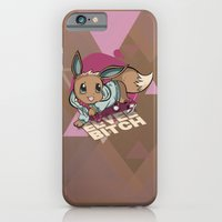 iPhone & iPod Case featuring Eevee bitch by Johnaddyn