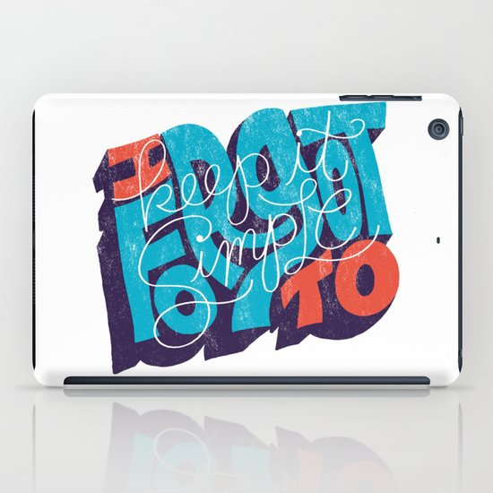 I Forgot to Keep it Simple iPad Case