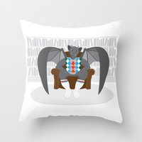 Gargyle Throw Pillow