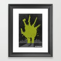 The Walking Dead Poster Framed Art Print