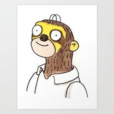 Homer Slothson Art Print