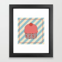 Cupcake 1 Framed Art Print