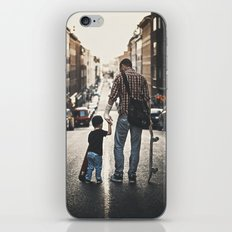Skateboarders iPhone & iPod Skin