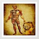bionic man  Art Print