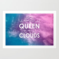 Queen of the Clouds Art Print