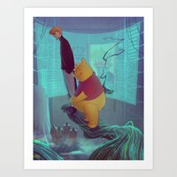 Secret Agent Calvin Hobbes: Meet Mr. Robin Art Print