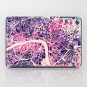 London Mosaic Map #2 iPad Case