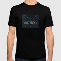 2. Come Together Mens Fitted Tee Black SMALL