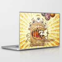 monster Laptop & iPad Skins featuring Monster by José Luis Guerrero