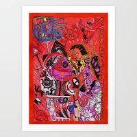 'Cause Love Forgives Eve… Art Print