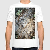 Eaten Wood Mens Fitted Tee White SMALL