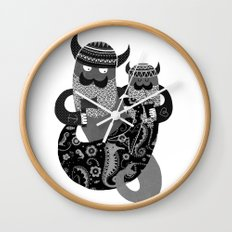 The Bearded Men of the Sea N0.2 Wall Clock