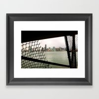 Peek Inside Framed Art Print