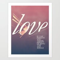 Love Song Art Print